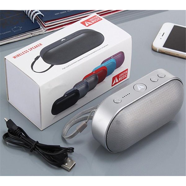Fashion L6 Mini Pill 20 Wireless Speaker With Fm Radio Usb Sd